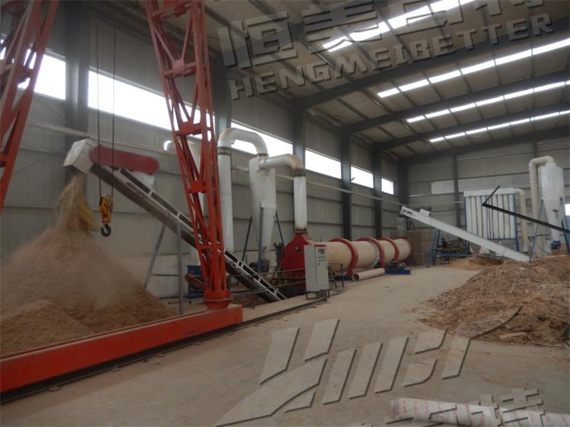 甘肃时产1-1.5吨生物质颗粒生产线